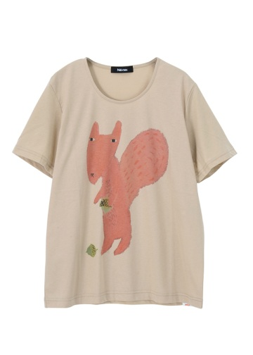 �l�E�l�b�g / S Donna Wilson squirell fox in leaves / T�V���c