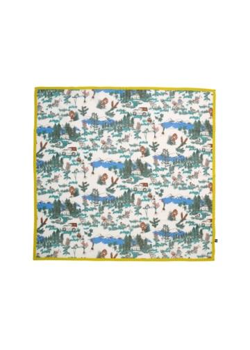 ネ・ネット / S 森のピクニックスカーフ / スカーフ