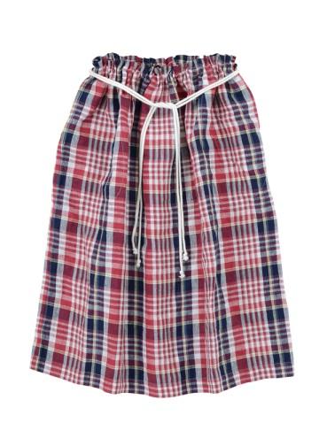 ネ・ネット / マドラスチェック / スカート