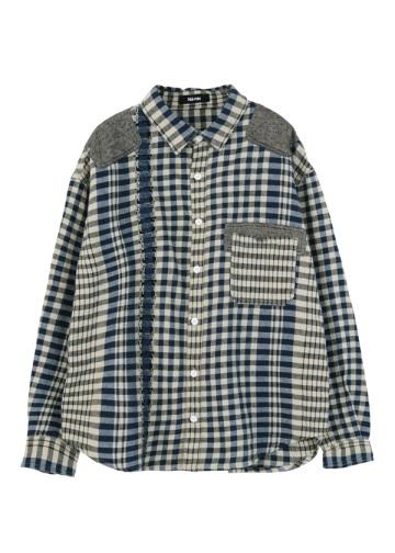 ネ・ネット / メンズ きのこチェック / シャツ