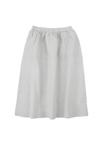 ネ・ネット / S クレープストライプ / スカート