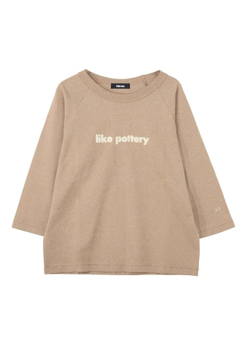 ネ・ネット / S like pottery T / カットソー