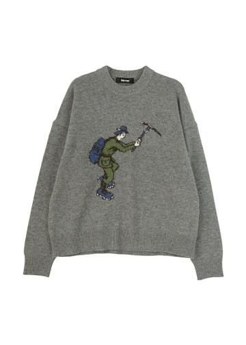 <先行予約> クライミングニット / セーター
