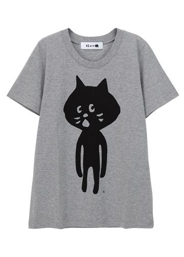 <追加予約> にゃー / 全身にゃー T / Tシャツ