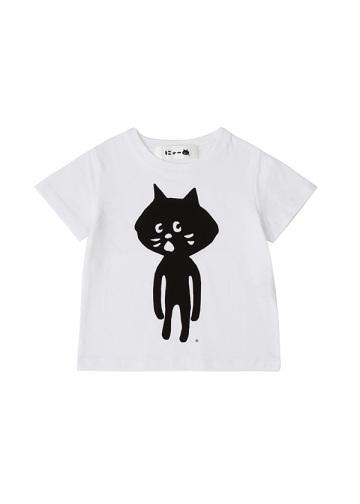 <追加予約> にゃー / キッズ 全身にゃー T / Tシャツ