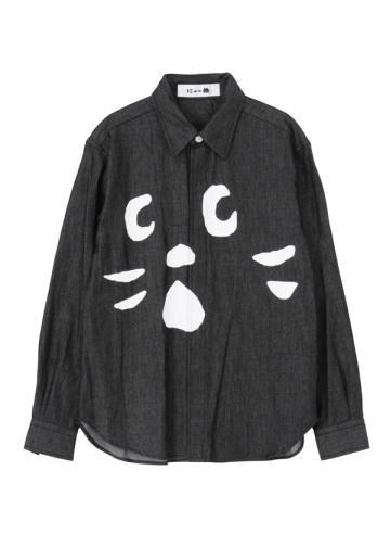 にゃー / にゃーデニムシャツ / シャツ