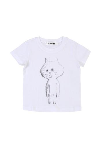 にゃー / キッズ らふにゃー T / キッズTシャツ