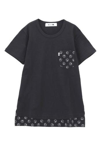 にゃー / 柄ポケットにゃーT / Tシャツ