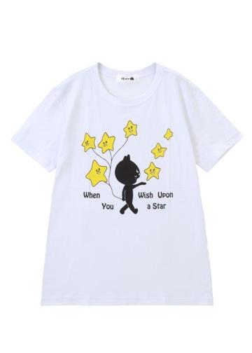 にゃー / メンズ ほしにねがいをにゃー T / Tシャツ