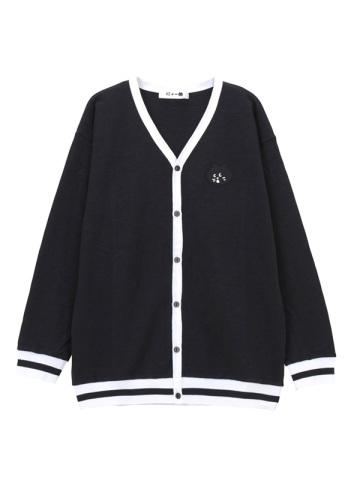 にゃー / メンズ コンビカーデ / カーディガン