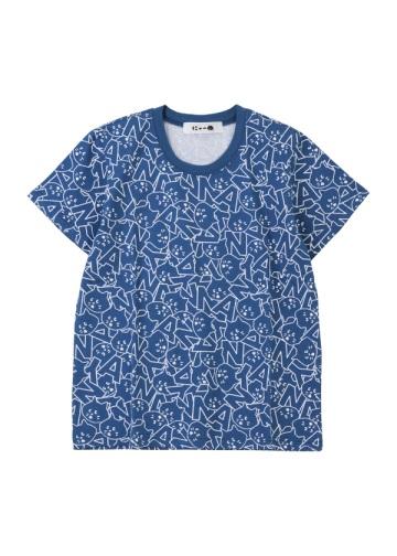 にゃー / S 総柄にゃーいっぱいT / Tシャツ