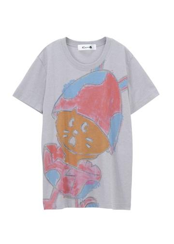 にゃー / S たまごうさぎにゃーT / Tシャツ