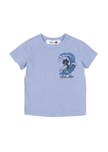 にゃー / S キッズ さーふにゃーT / Tシャツ