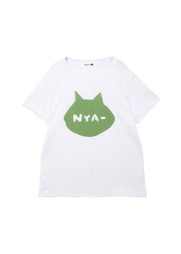 にゃー / シルエットNYA - T / Tシャツ