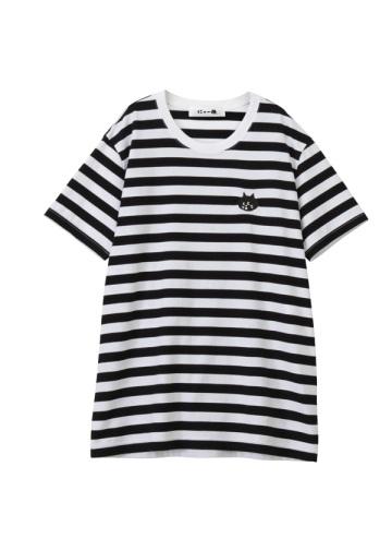 にゃー / にゃーボーダー T / Tシャツ
