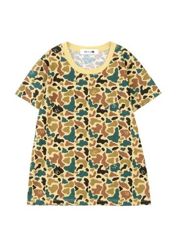 にゃー / カモフラにゃーT / Tシャツ