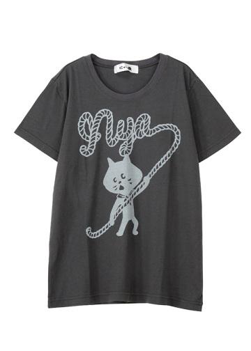 にゃー / ボイスカにゃー T / Tシャツ