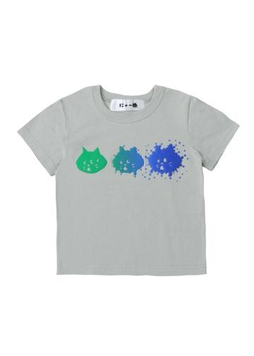 にゃー / S キッズ スプラッシュにゃー T / Tシャツ