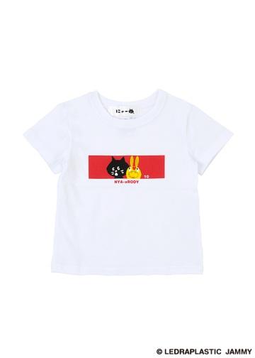 にゃー / S キッズ にゃー10thロディ T / Tシャツ