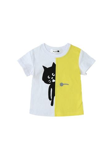 にゃー / キッズ ドアからにゃー T / Tシャツ