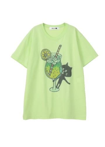 にゃー / からふるドリンクにゃー T / Tシャツ