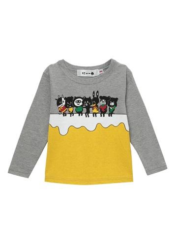 にゃー / キッズ にゃーとおともだちのHBD T / Tシャツ