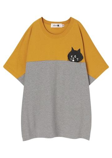 <先行予約> にゃー / コンビポケにゃー T / Tシャツ