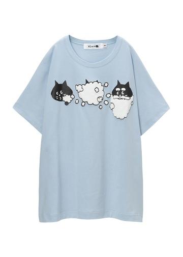 にゃー / バブルにゃー T / Tシャツ