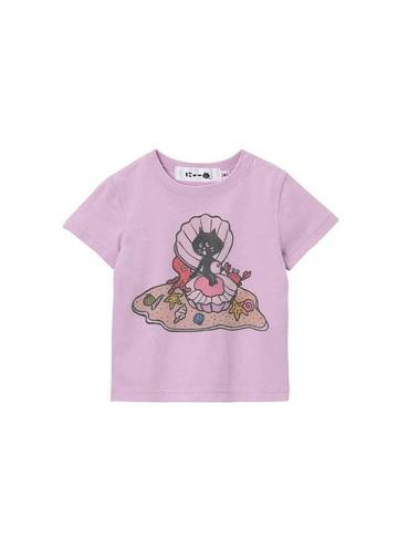 にゃー / キッズ サンドパールにゃー T / Tシャツ