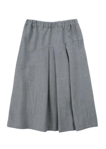 Plantation L-line / S ウールリネンツイル / スカート