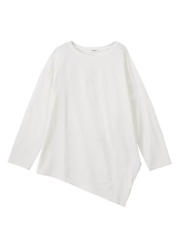 Plantation / ペーパーコットン天竺/長袖Tシャツ・