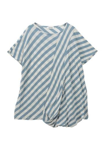Plantation / ツイストボーダー/半袖Tシャツ・