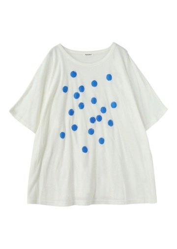 Plantation L-line / GF ペーパープリントT/半袖Tシャツ・