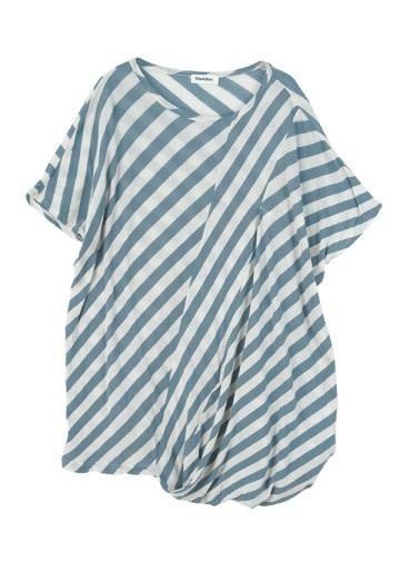 Plantation L-line / S ツイストボーダー / 半袖Tシャツ・