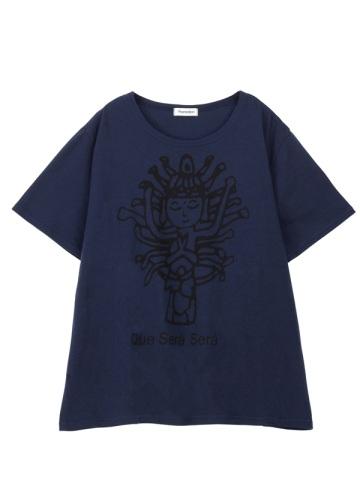 Plantation L-line / アルカイックスマイルT-�U / Tシャツ
