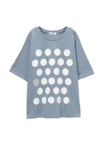 Plantation / GF ロゴドットTシャツ / カットソー
