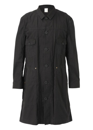 S vintage horse cloth shop coat