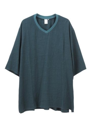 S rayon wool big T