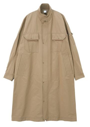 S Suede tone work coat