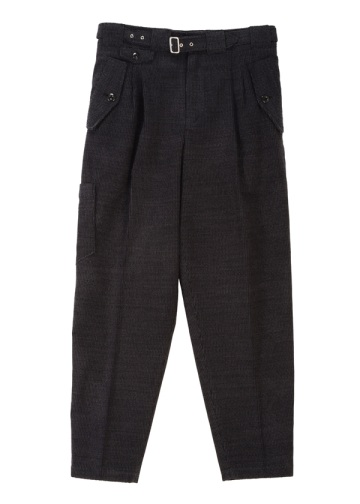 S Wool corduroy - 5 pockets pant