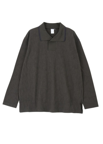 Straiped crepe knit - shirts
