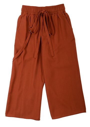 Wool Wide Pants