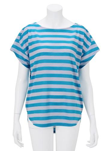 TSUMORI CHISATO / SP ラミーラメボーダー / Tシャツ