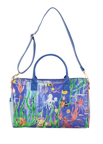 TSUMORI CHISATO / S under waterPVC�o�b�O / �{�X�g���o�b�O