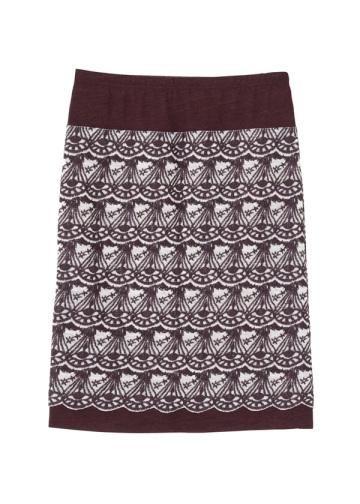 TSUMORI CHISATO / S ダイヤスカラップ刺繍T / スカート