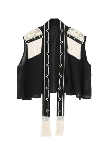 TSUMORI CHISATO / ブラシ刺繍  / ブラウス