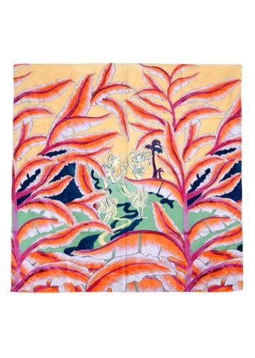 TSUMORI CHISATO / S アロハランドスケープスカーフ / ストール