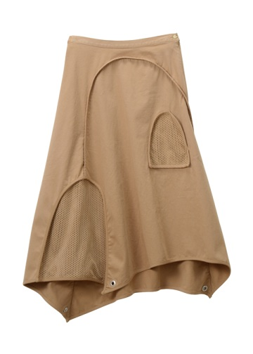 TSUMORI CHISATO / S バーリントン&パンチング / スカート