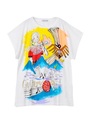 TSUMORI CHISATO / オーラガールT / Tシャツ