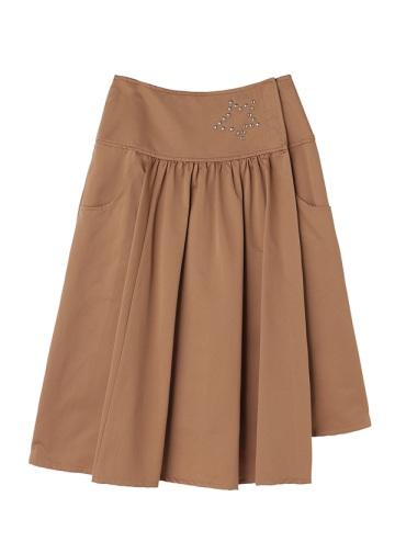 TSUMORI CHISATO / ナイロンライトサテン / スカート